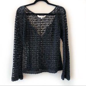Trina Turk Crochet Top